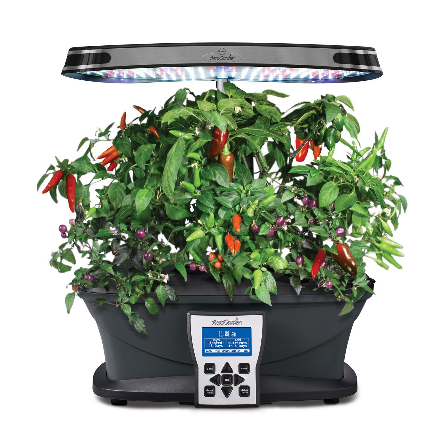 Miracle Gro Aerogarden Ultra Led Indoor Garden With Gourmet Herb Seed Kit