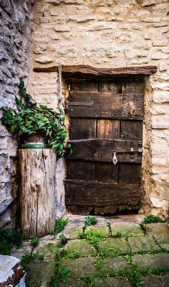 old-rustic-door