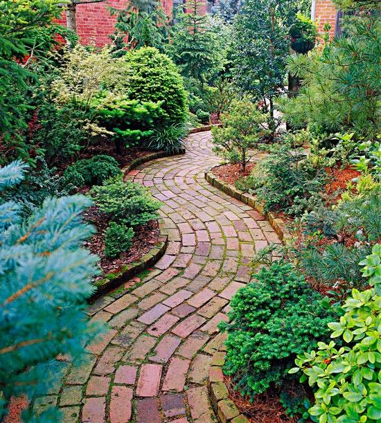 brick-garden-path